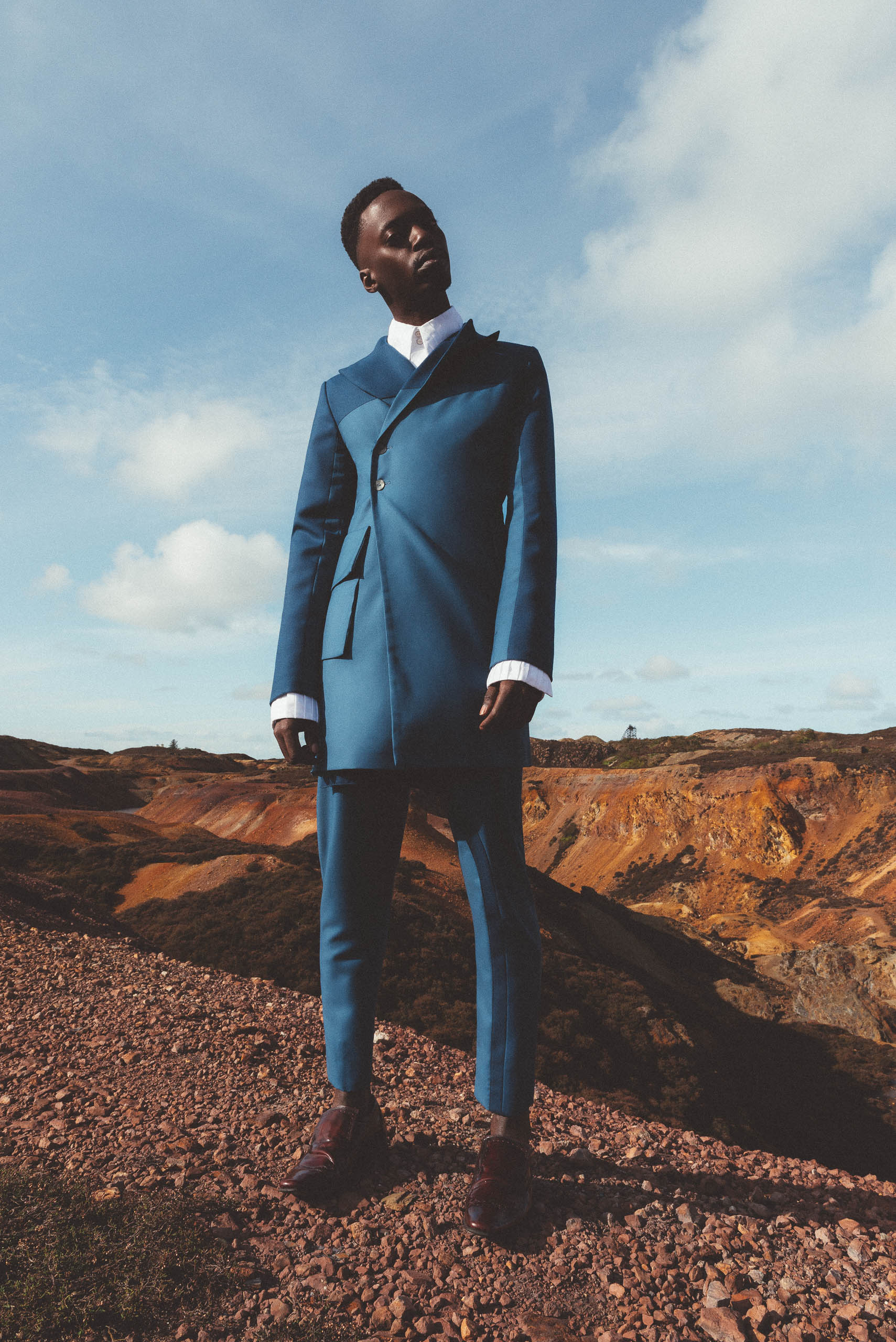 Maurice Whittingham is a New Sustainable Menswear label shop Two Colour Jacket